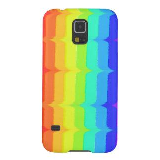 Kunstmuster Samsungs-Galaxie S5 des Regenbogens Galaxy S5 Hülle