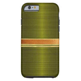 Kupfer und Gold mit einem Band versehener iPhone 6