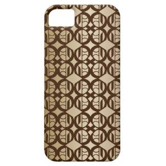 Kupfer verbundener Hintergrund iPhone 5 Case