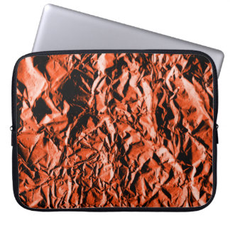 Kupferne Folie #2 Laptop Sleeve