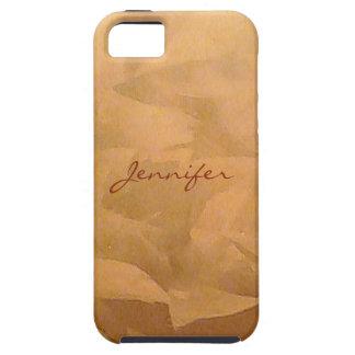 Kupferne metallische Imitat-Ende Schutzhülle Fürs iPhone 5
