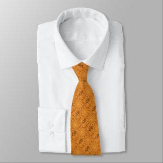 Kupferne Paisley-Krawatte Krawatte