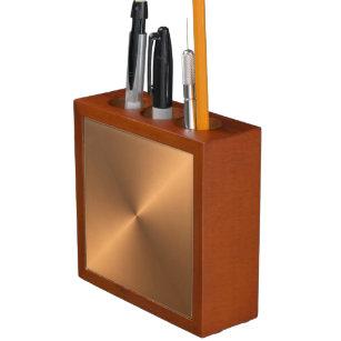 Kupferner Glanz Stifthalter