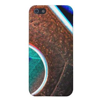 Kupfernes Blau iPhone 5 Etui