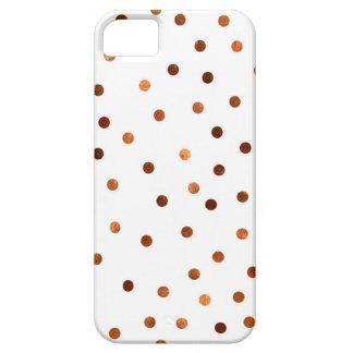 Kupfernes Punkt-Muster Hülle Fürs iPhone 5