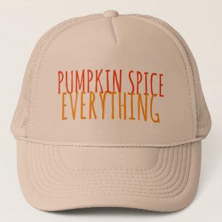Kürbis-Gewürz alles Fernlastfahrer-Hut Mütze