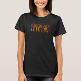 Kürbis-Gewürz alles langer Hülsen-T - Shirt