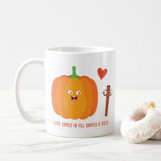 Kürbis-Gewürz-Liebe-Fall-Tasse Kaffeetasse