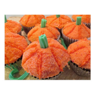 Kürbis-kleine Kuchen Postkarte