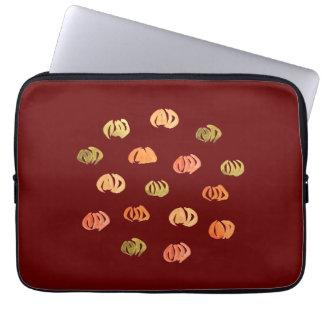 """Kürbis-Laptop-Hülse 13"""" Laptop Sleeve"""