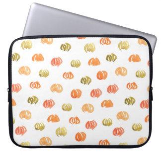"""Kürbis-Laptop-Hülse 15"""" Laptop Sleeve"""