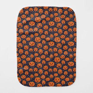 Kürbis-Muster-Kürbislaterne Halloweens süße Spucktuch