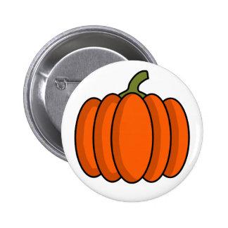 Kürbis Runder Button 5,1 Cm