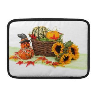 Kürbis und Sonnenblumen MacBook Air Sleeve