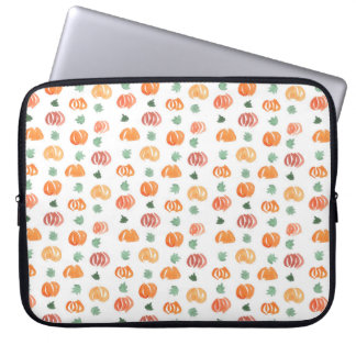 """Kürbise mit Blätter-Laptop-Hülse 15"""" Laptopschutzhülle"""
