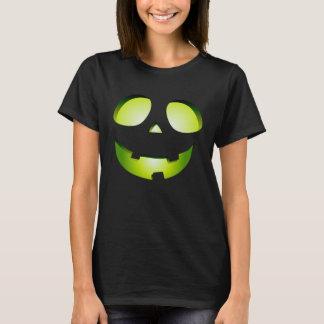 Kürbisgesichts-Kostüm-Shirt des Halloweens der T-Shirt