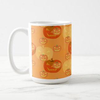 Kürbislaterne Halloween Tasse