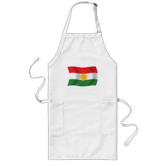 Kurdistan-Flaggen-Schürze Lange Schürze