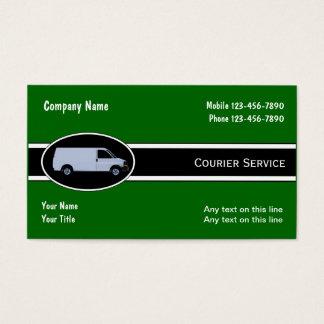 Kurier-Lieferungs-Visitenkarten Visitenkarte