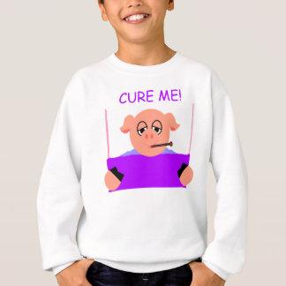 Kurieren Sie mich das Sweatshirt der Kinder