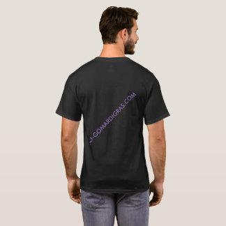 Kurzer SleeveBLACK KARNEVAL-NETZ T - Shirt