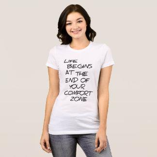 Kuschelecke-Meinungs-Schwarz-Logo lustig T-Shirt