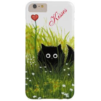 Kuss-kundenspezifischer Katzen-Fall durch Bihrle Barely There iPhone 6 Plus Hülle
