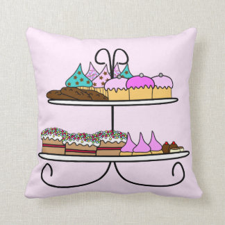 Kussen cupcake en taartjes zierkissen
