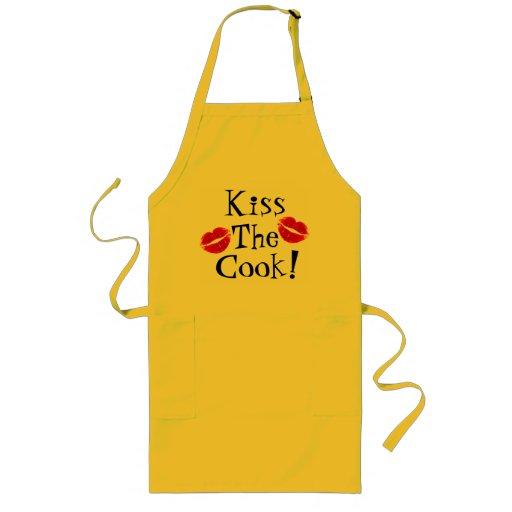 Küssen Sie den Koch!  Schürze