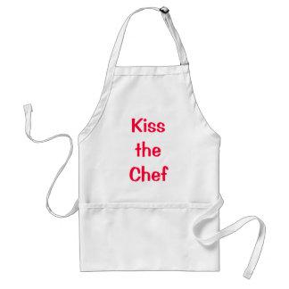 Küssen Sie den Koch Schürze