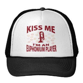 Küssen Sie mich, den ich ein Euphonium-Spieler bin Kappe