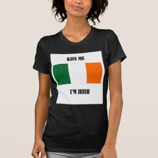 Küssen Sie mich, den ich - Flagge irisch bin T-Shirt