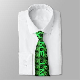 Küssen Sie mich, den ich Iren-St Patrick Krawatte