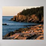 Küstenlinie des Acadia-Nationalparks, Maine Poster