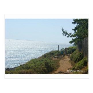 Küstenpfad Nevez die BRETAGNE Postkarte