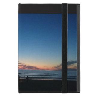 Küstensonnenuntergang. Nachtfischen iPad Minifall Hülle Fürs iPad Mini