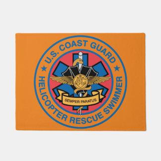 Küstenwache-Hubschrauber-Rettungs-Schwimmer Türmatte