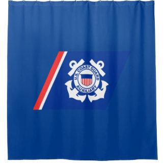 Küstenwache-Logo Duschvorhang
