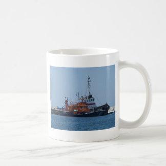 Küstenwachen-Boot und Schlepper-Boot Kaffeetasse