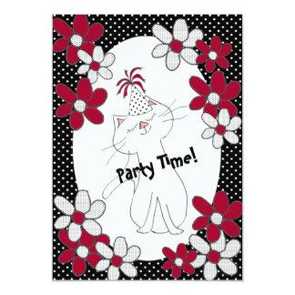 Kute Kitty Purr*fect Party Einladungen 12,7 X 17,8 Cm Einladungskarte