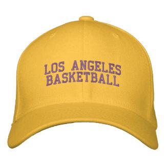 L.A.  BASKETBALL BESTICKTE KAPPE