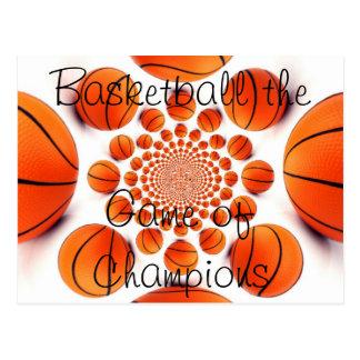 L Liebe-Basketball das Spiel der Meister-Postkarte Postkarte