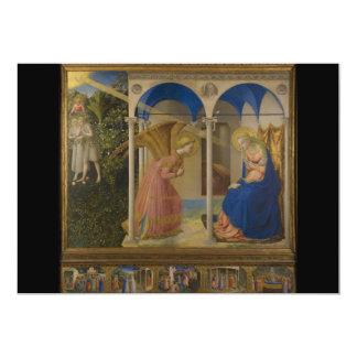 La Anunciación durch Fra Beato Angelico 12,7 X 17,8 Cm Einladungskarte