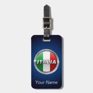 La Bandiera - die italienische Flagge Gepäckanhänger