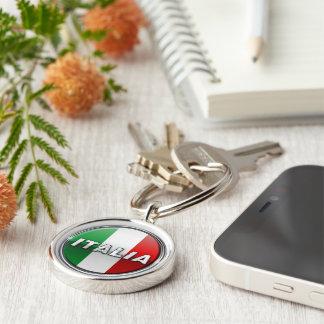 La Bandiera - die italienische Flagge Schlüsselanhänger