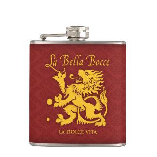 La Bella Bocce Flasche Flachmann
