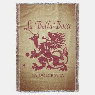 La Bella Bocce Wurfs-Decke Decke