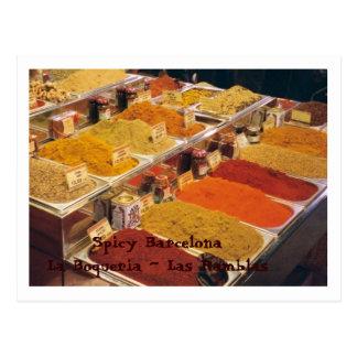 La Boqueria - Gewürze für Ihre Mahlzeit Postkarten