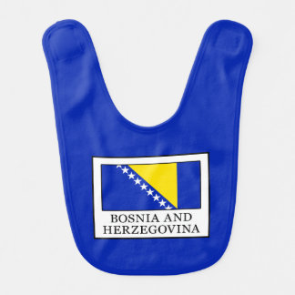 La Bosnie-Herzégovine Bavoir Pour Bébé