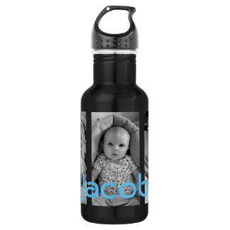 La bouteille d'eau personnalisée, ajoutent vos